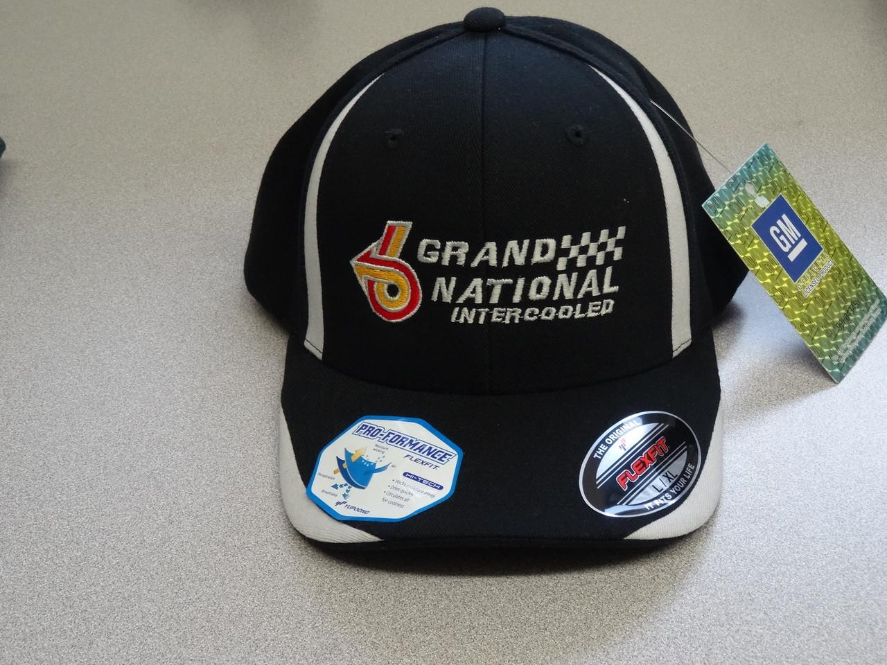 BUICK GRAND NATIONAL INTERCOOLED MOISTURE WICKING FLEXFIT HAT ... bef934c0656f