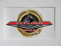 2018 Pontiac GTO Association of America Convention Decal (3)