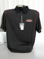 PONTIAC GTO CARBON FIBER PATTERN MOISTURE WICKING POLO SHIRT