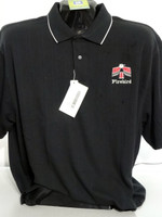 PONTIAC FIRST GENERATION FIREBIRD TEXTURED 2 TONE POLO SHIRTS GM LICENSED