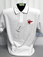 PONTIAC INDIAN CHIEF TEXTURED POLO SHIRTS BY GM