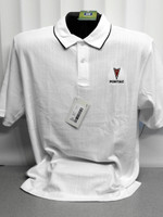 PONTIAC ARROWHEAD TEXTURED POLO SHIRT BY GM