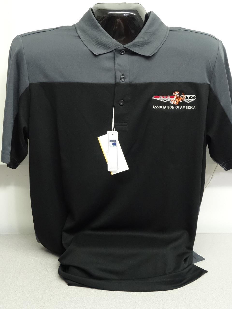 Cool N Dry Gto Association Of America Polo Shirt Custom Auto Apparel