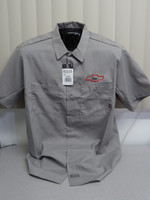 Pickups-n-Panels Dickies Men's 4.25 oz. Industrial Short-Sleeve Work Shirt LS535