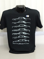 Official GM Licensed New Evolution of the Pontiac GTO 1964-2006 Tee shirt