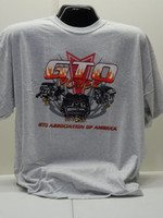 GTOAA GTO POWER tri-power engine tee shirt (Closeout)