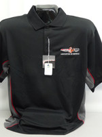 Pontiac GTOAA Tri-Color moisture wicking polo shirt