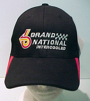 TURBO T BUICK BLACK GM LICENSED EMBROIDERED BALL CAP