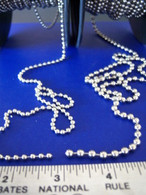 Metal Beaded Chain-priced per foot.