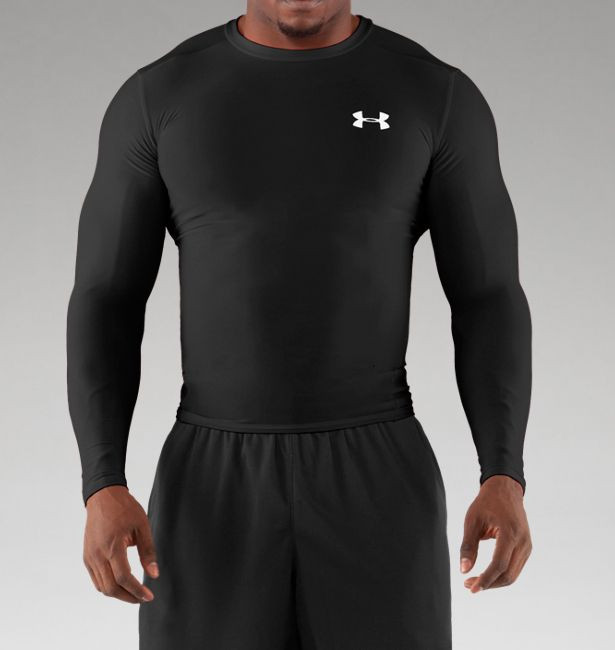 d63d63f7 Softball Fast Pitch Blank Long Sleeve Under Armour Compression shirt ...