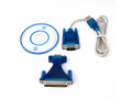 USB 2.0 to 9/25-Pin Serial RS23
