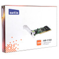 Netis AD-1102 10/100/1000Mbps Gigabit Ethernet PCI Adapter, Reconditioned