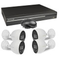 Lechange DK84R042 8-Channel 2TB Network DVR Security System w/4x4MP MotionEye Cameras & Remote Access