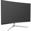 "AOC C32V1Q 31.5"" Full HD Curved Screen LCD Monitor - 16:9 - Black, Silver"