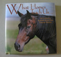 "What Horses Teach Us  SKU # 21-1309  Life's lessons learned from our equine friends.  Horse lovers everywhere know that there is much we can learn by watching and caring for horses.  In this book, insight and humor are paired with delightful photos to remind us of what is meaningful in our lives.  1/2 lb.  6""W x 6""H x 1/2""D"