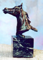 "Connie Foss Lost Wax Bronze ""Clarion Call""  SKU # A21-2509D  ""Clarion Call"" Lost wax bronze by renowned sculptor Connie Foss.   3 lbs.   6H x 2L x 2W  Please allow 3 months for casting."