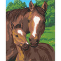 Pony & Mother Paint by Number Set