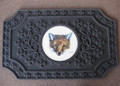 Fox Mask Door Mat