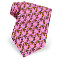 Eat, Sleep and Polo Pink Tie