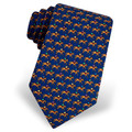 One Horse Race Navy Blue Tie