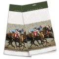 The Long Shot 100% Cotton Kitchen Towel
