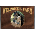 Welcome To Our Farm Rug
