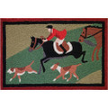 Off To The Hounds Indoor Rug