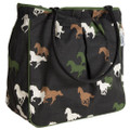 Zippered Horse Galore Tote