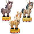 Whimsical Horses, Set of 3