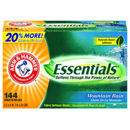 Dryer Sheets - Arm & Hammer Essentials - CDC 14995*