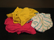 Rags - Reclaimed Colored T-Shirts -  25lb box - U-31*