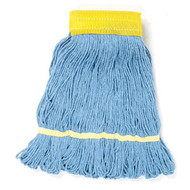 Wet Mop Head - cotton/synthetic blend - looped ends - LBI501BL*