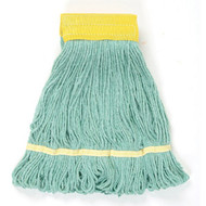 Wet Mop Head - cotton/synthetic blend - looped ends  - LBI501GN*