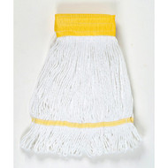 Wet Mop Head - cotton/synthetic blend - looped ends - LBI502WH*