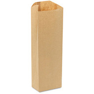 PAPER BAGS - PINT, HEAVY DUTY, 3.75X2.25X11.5, 500/BDL