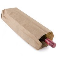 PAPER BAGS - QUART, HEAVY DUTY, 4.25X2.5X16, 500/BDL