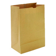 PAPER BAGS - 1/6 BARREL, 75LBS, HEAVY DUTY, 12X7X17, 400/BDL