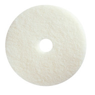 "Floor Pads - 15"" white - M15-01*"