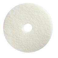 "Floor Pads - 17"" white - M17-01*"