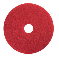 "Floor Pads - 15"" red - M15-05*"