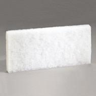 "Scour Pad - 4"" x 10"" - white - PAD 401*"