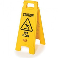 "Floor Sign - ""caution wet floor"" - RM6112-77*"
