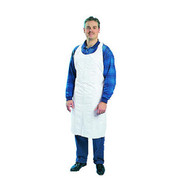 Disposable Apron - white polyethylene - GLX390*