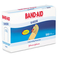 Bandages - Band-Aid Sheer Adhesive Bandages - JOJ4634*
