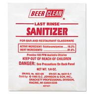 Sanitizer - Beer Clean powder - DR-223Z*