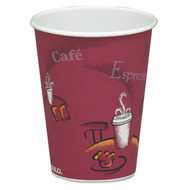 Cup - paper hot - 8oz - Bistro design - SCC 378SI*