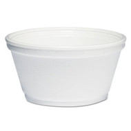 Bowls - foam - 8oz squat - DCC 8SJ20*