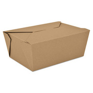Paper Carry Out Container - 4 3/8x3.5x2.5 - SCH 0761*