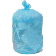 Can Liners - high density - blue - 40/45 gallon - ADVC404816BLUE