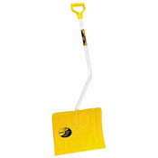 "Snow Shovel - 18"" bent handle aluminum - ST3235"
